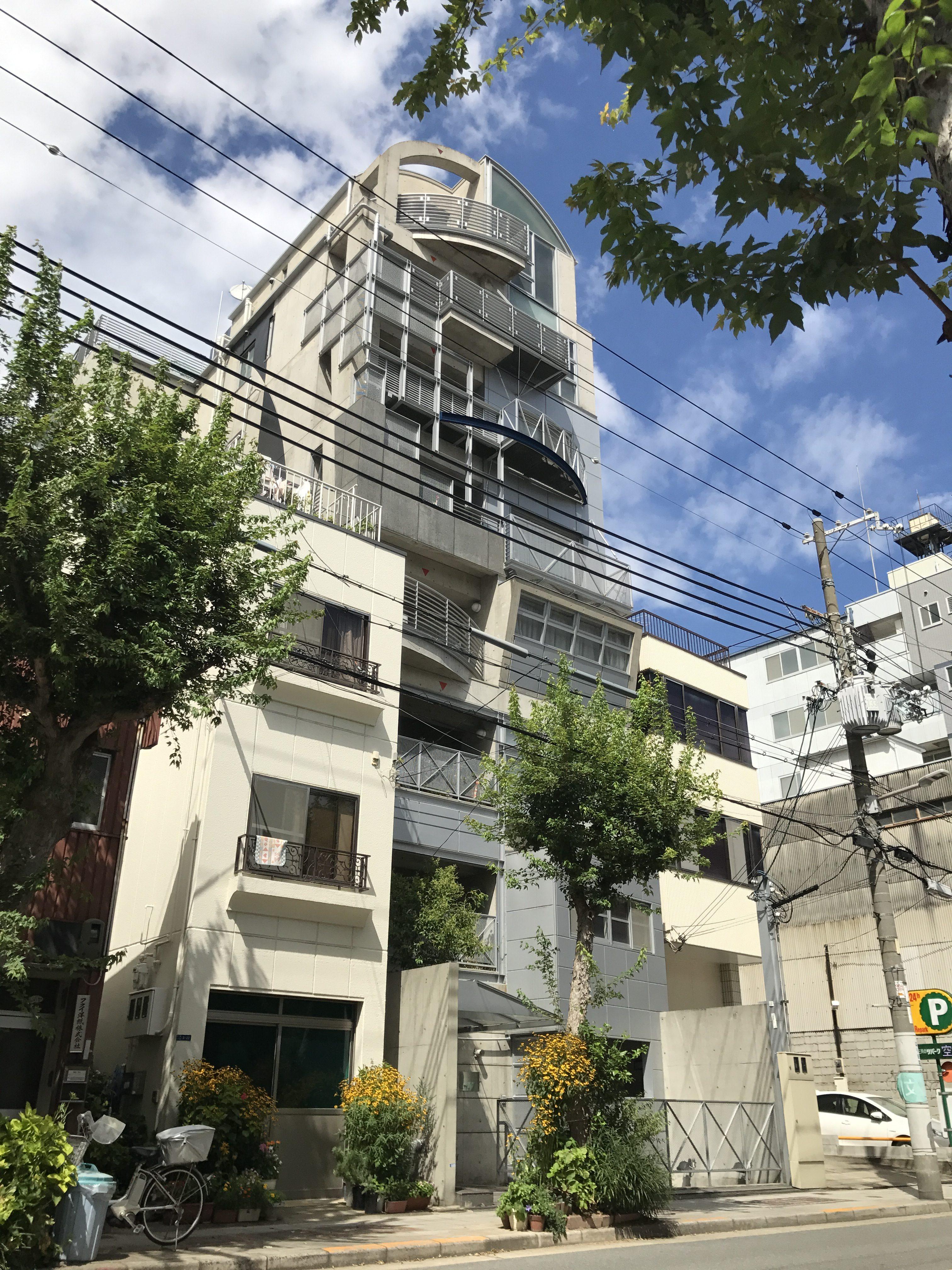 大阪市中央区玉造二丁目の物件外観写真