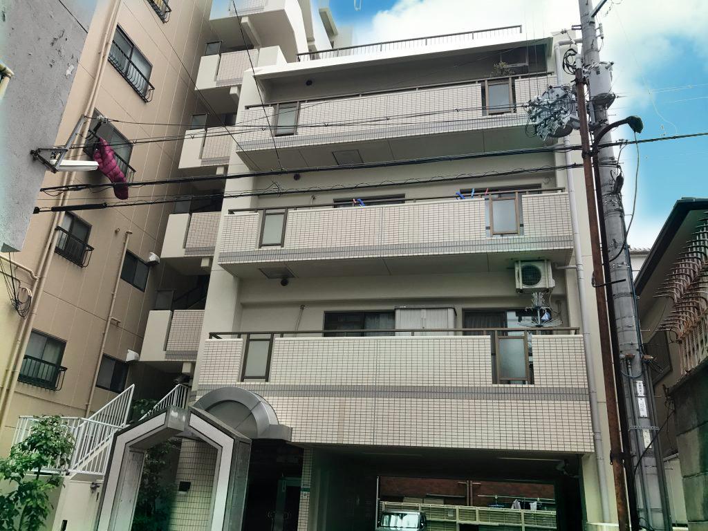 大阪市阿倍野区阪南町4丁目の物件外観写真
