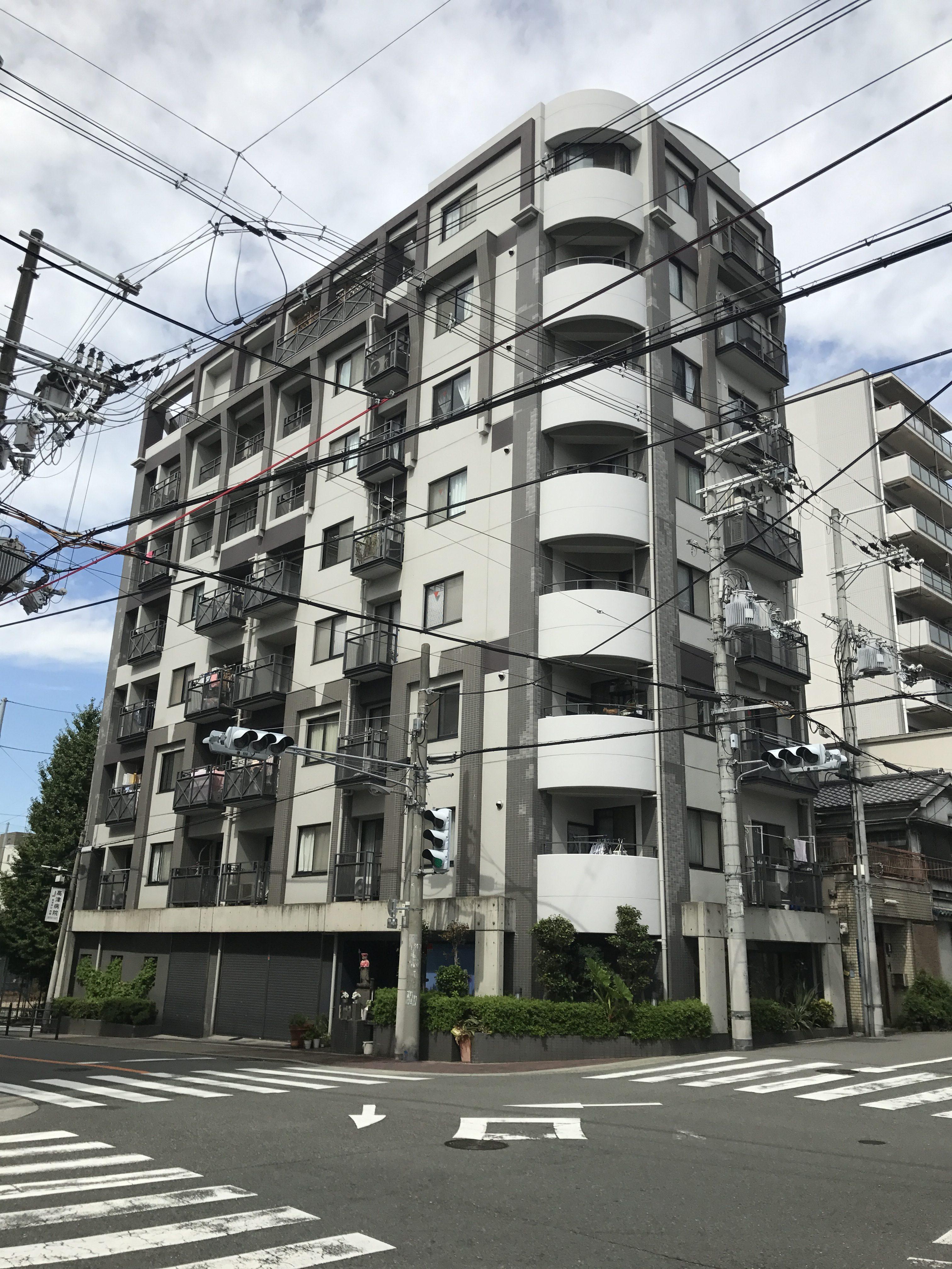 大阪市中央区瓦屋町二丁目の物件外観写真