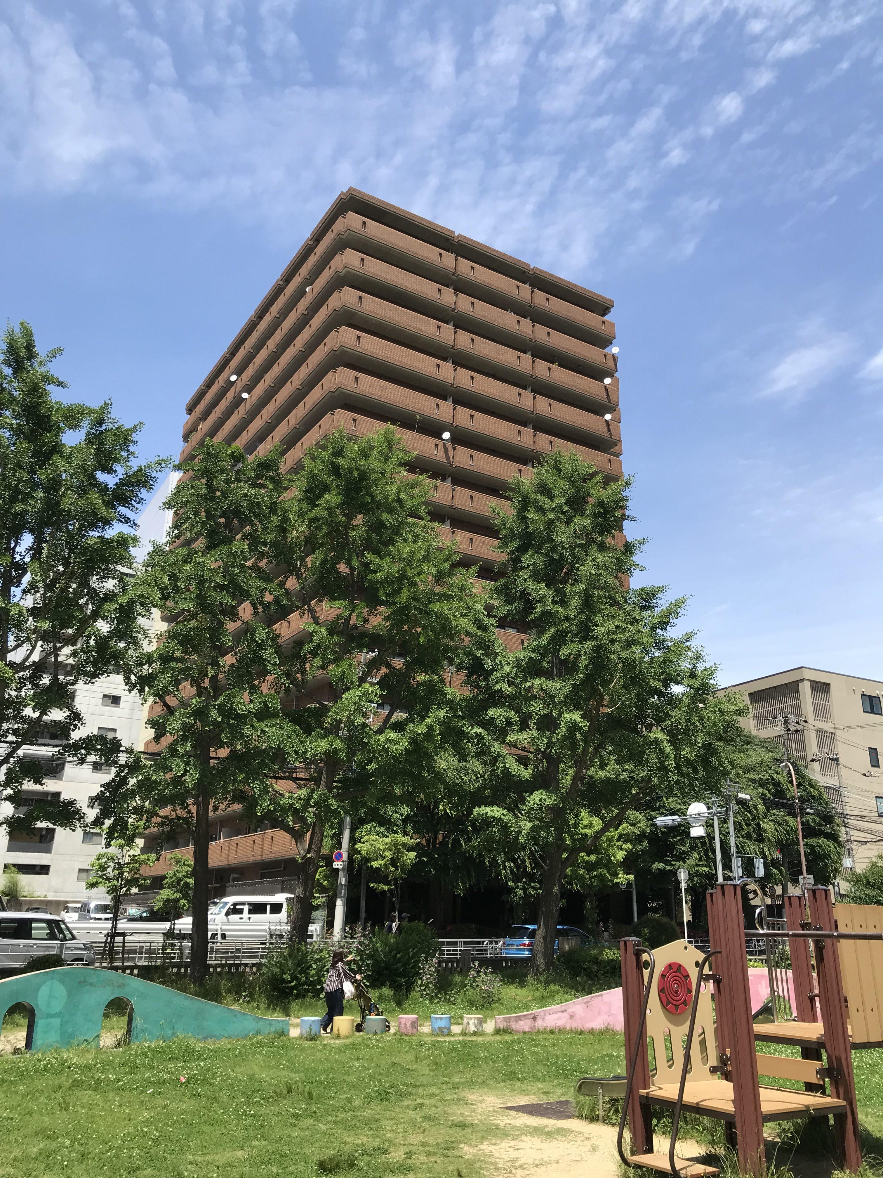 大阪市北区南扇町の物件外観写真