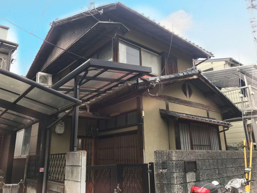 京都市北区紫野西藤ノ森町の物件外観写真