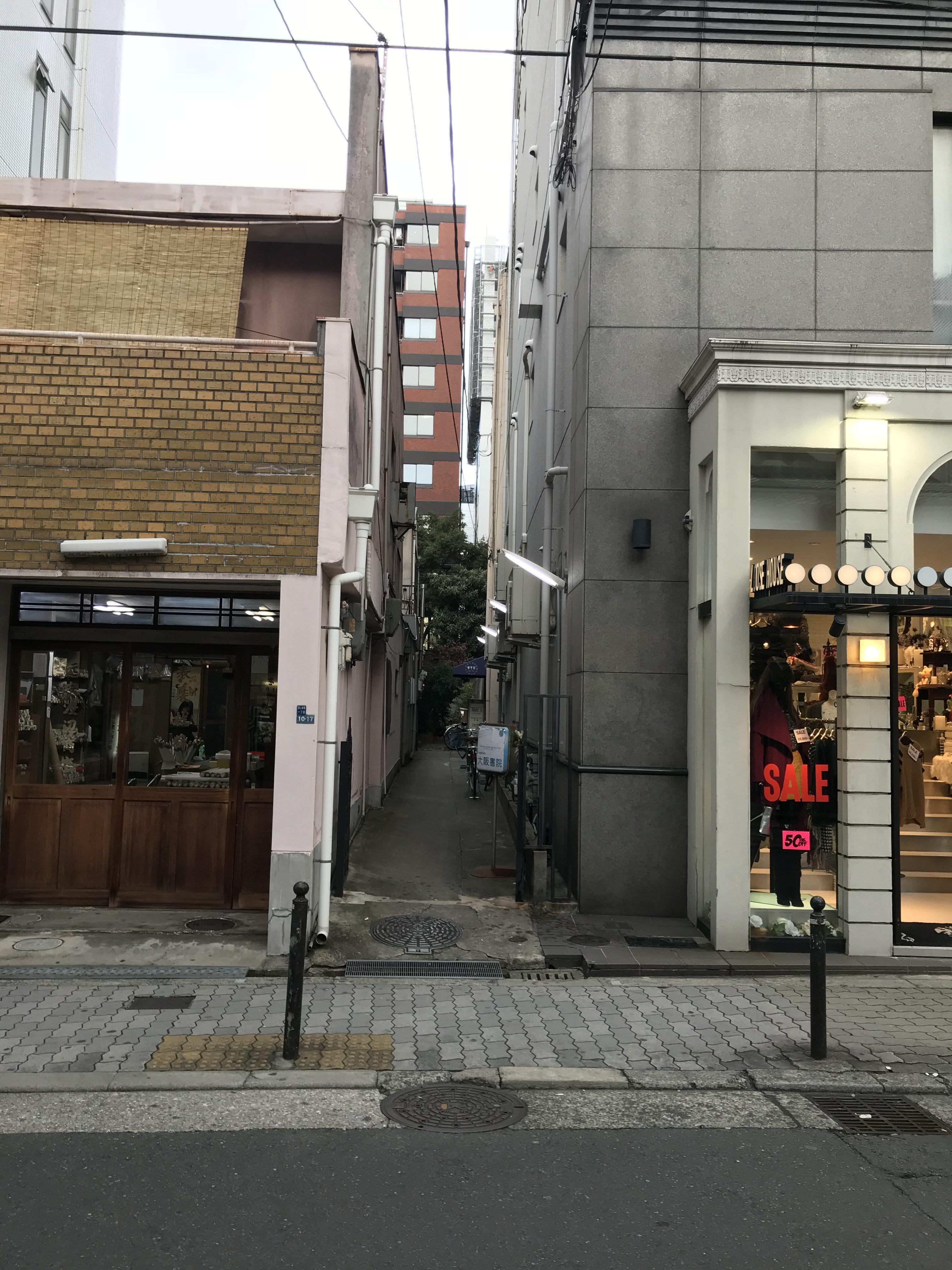 大阪市中央区西心斎橋の物件外観写真