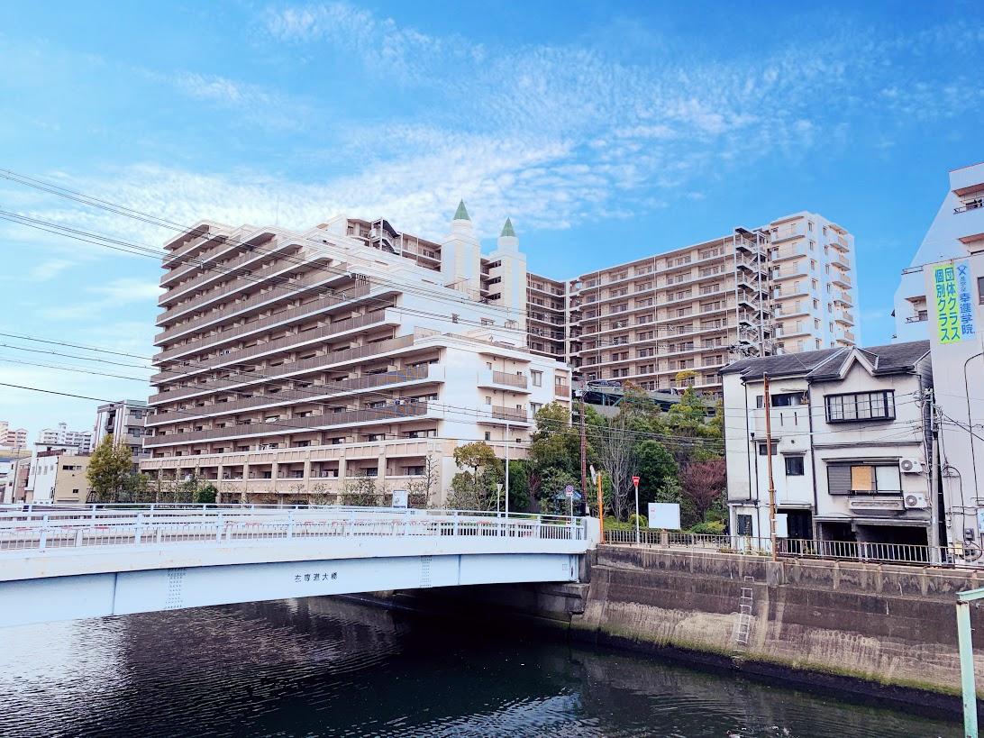 大阪市城東区東中浜の物件外観写真
