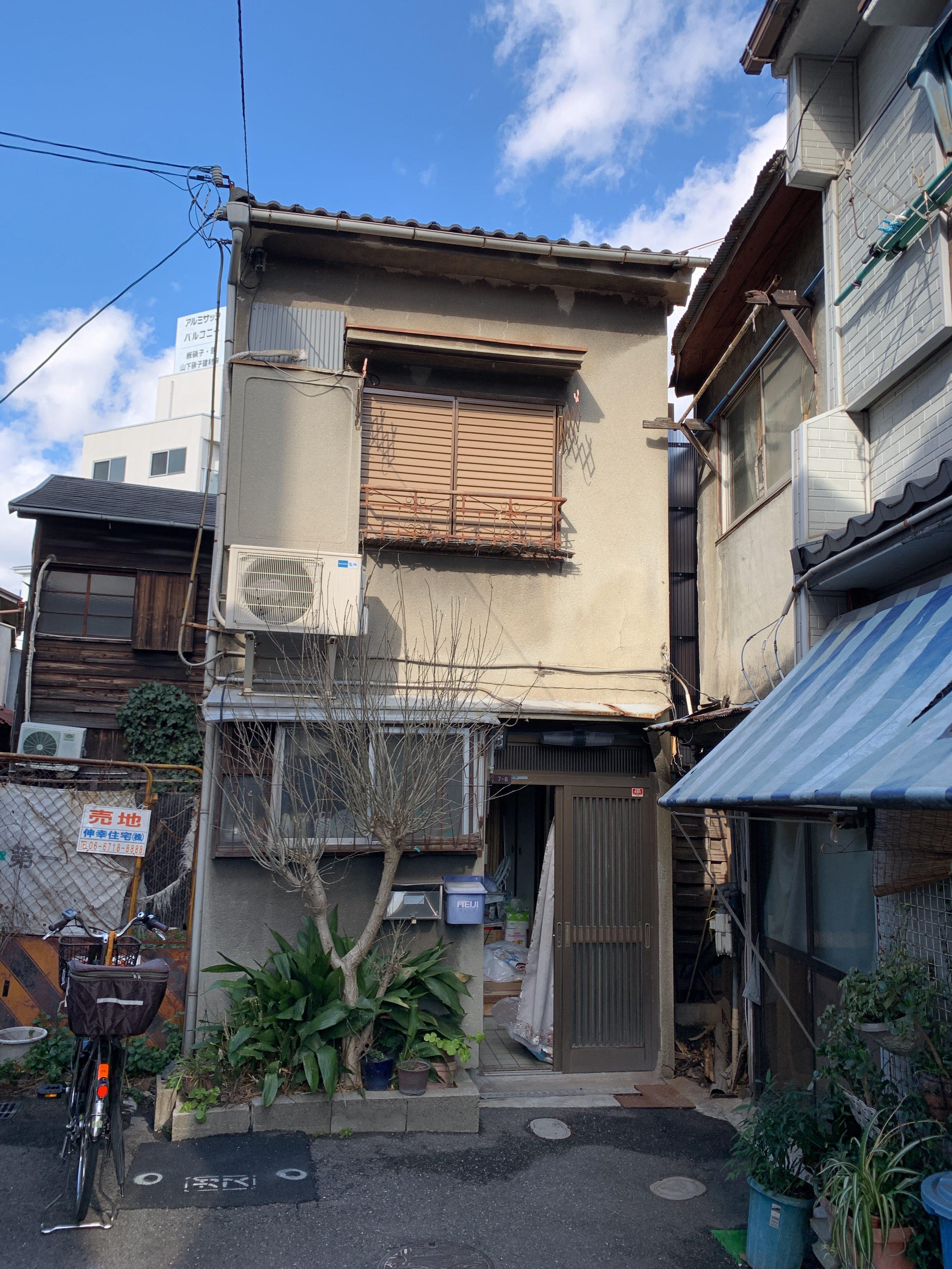 大阪市天王寺区大道の物件外観写真