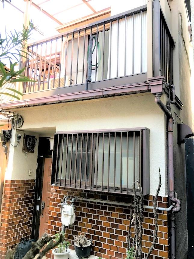 大阪市平野区背戸口の物件外観写真