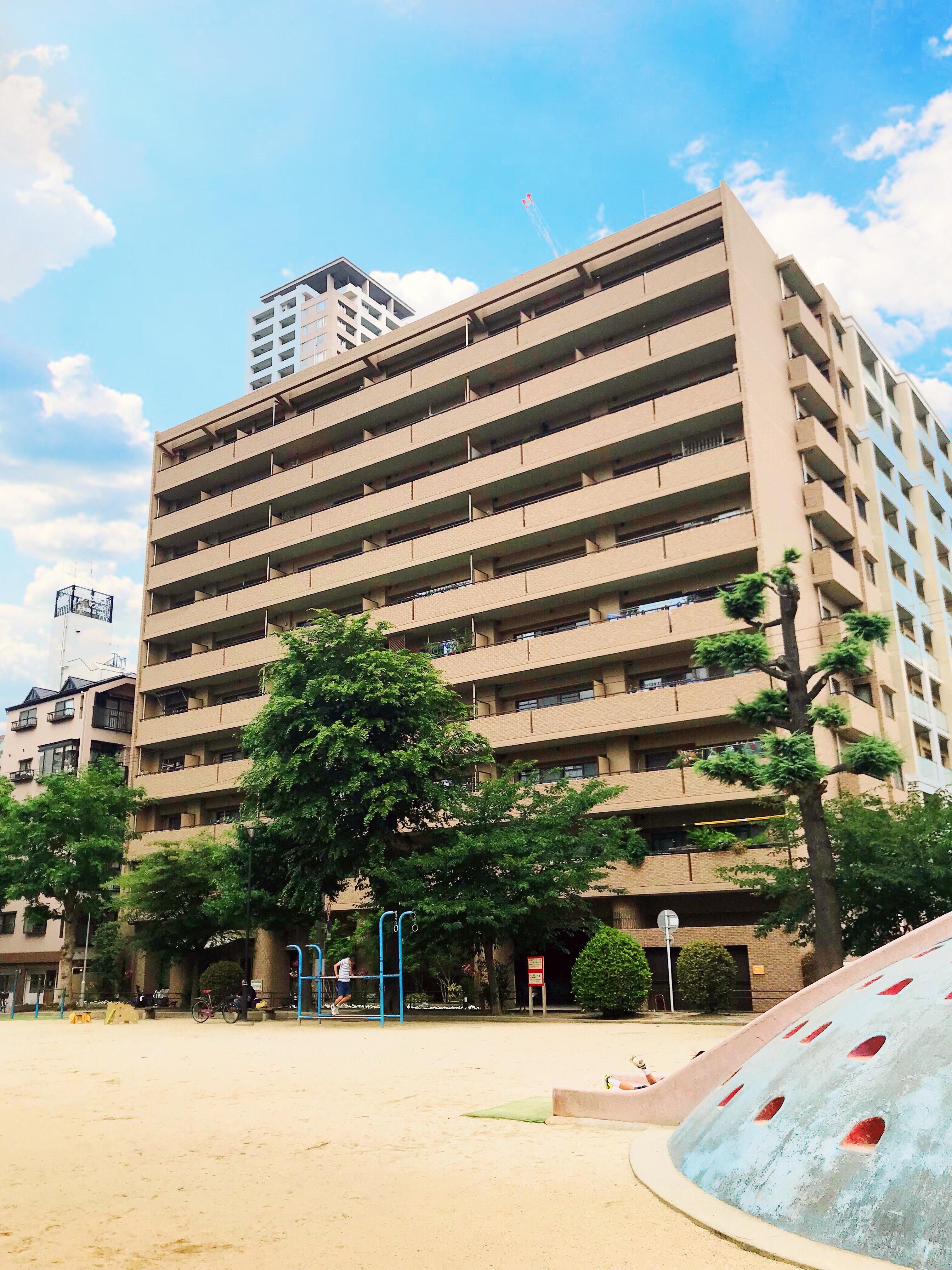 大阪市天王寺区石ヶ辻町の物件外観写真