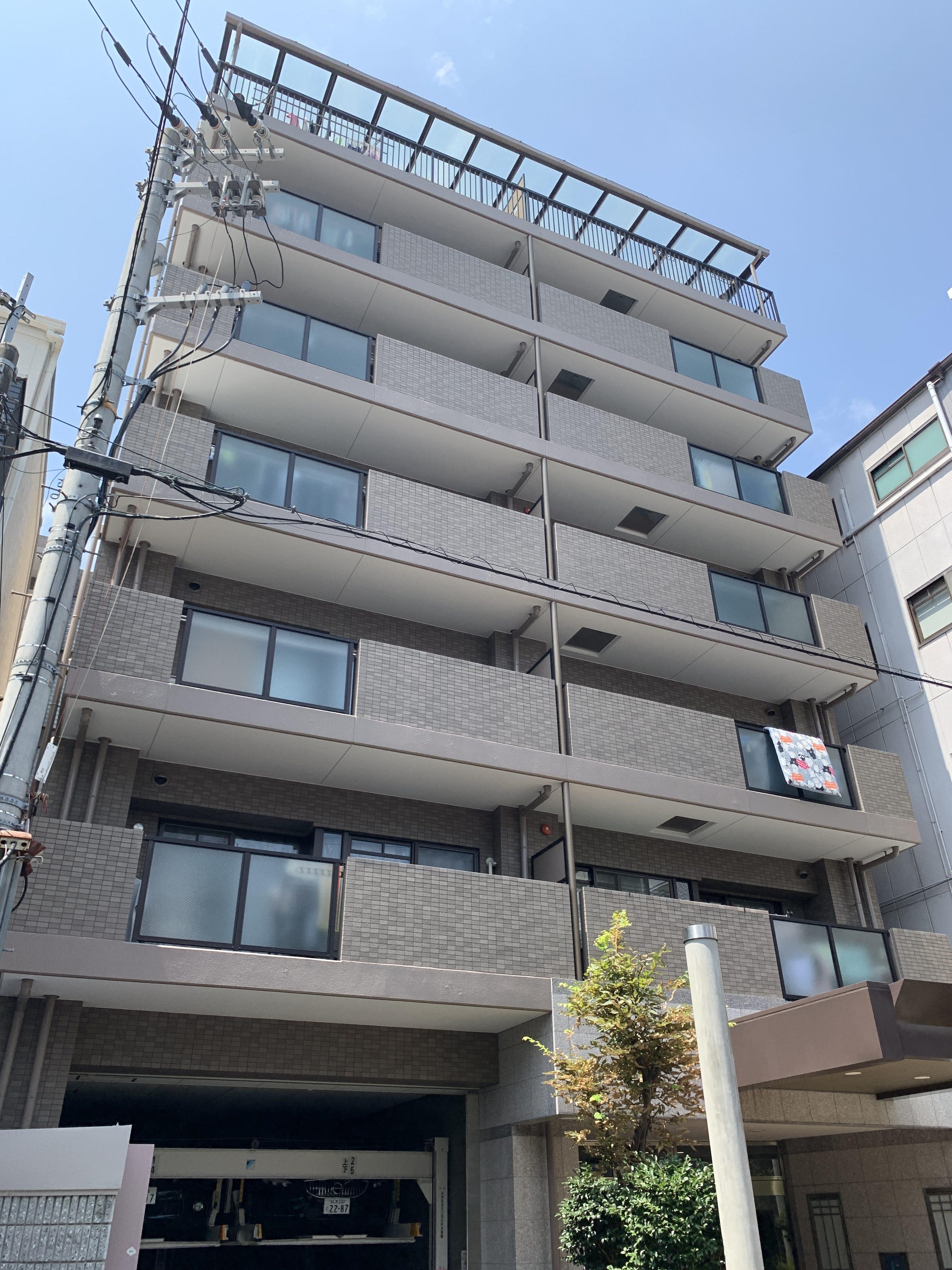 大阪市中央区谷町六丁目の物件外観写真