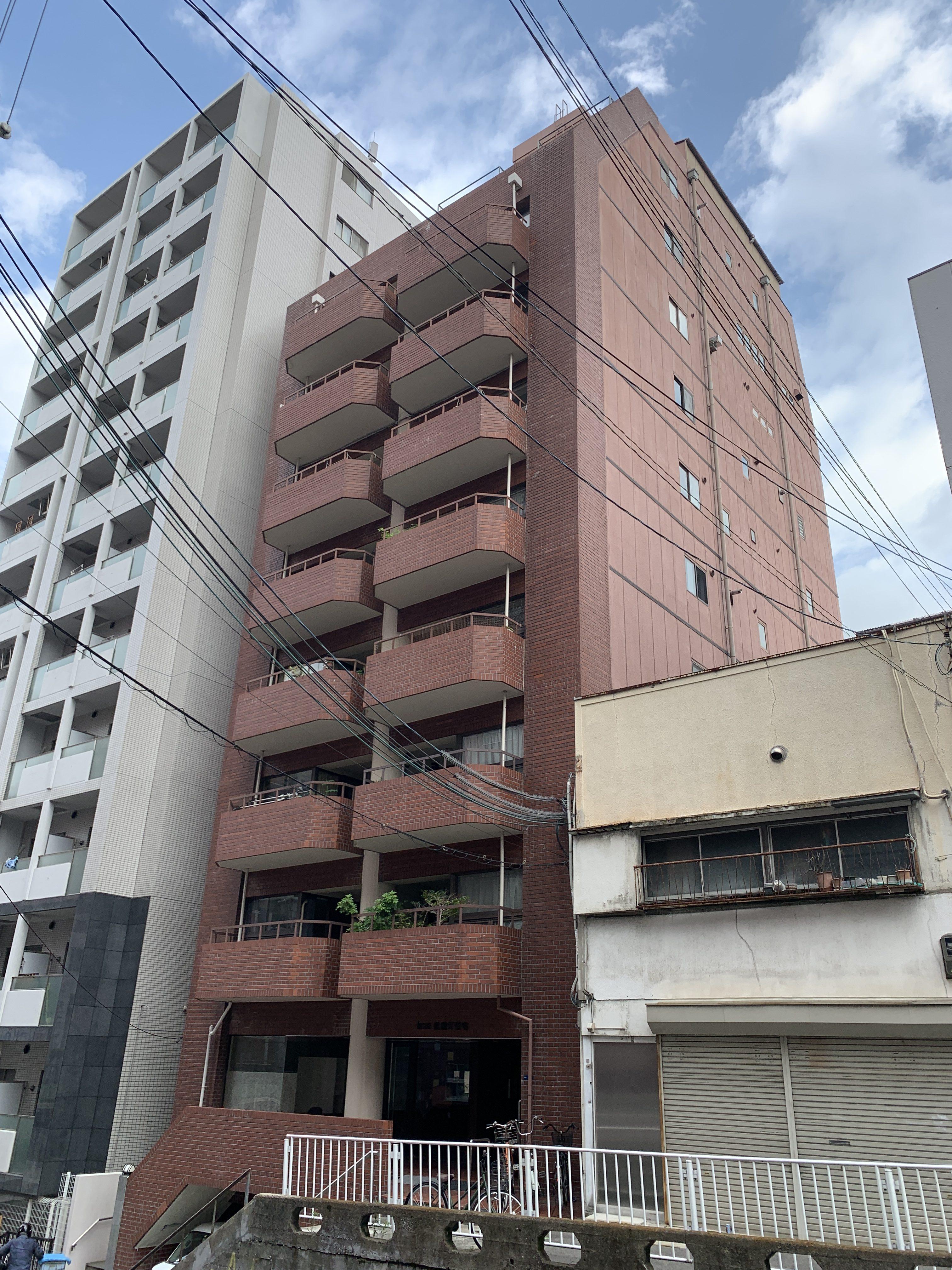 大阪市中央区神崎町の物件外観写真