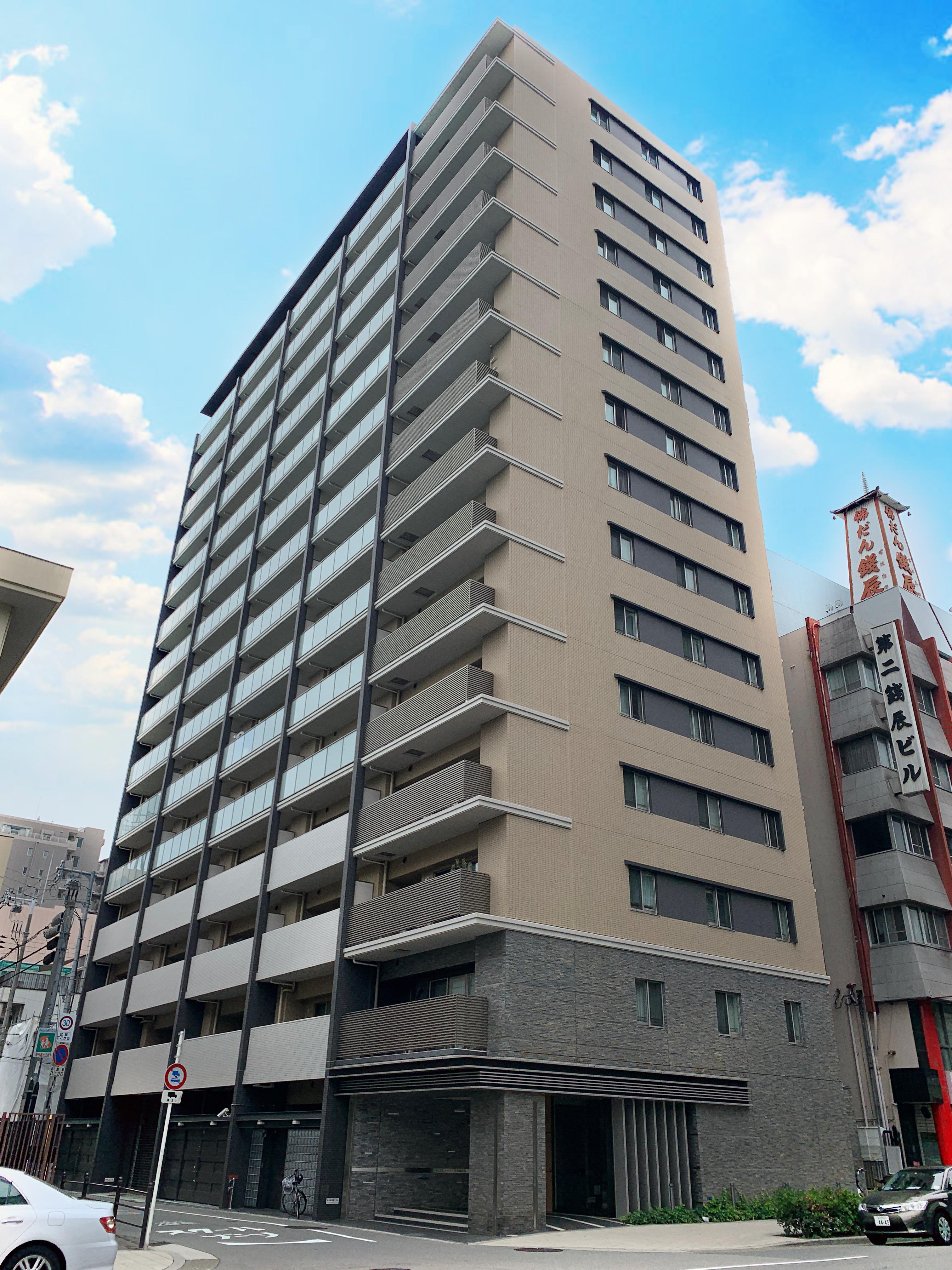 大阪市中央区高津の物件外観写真