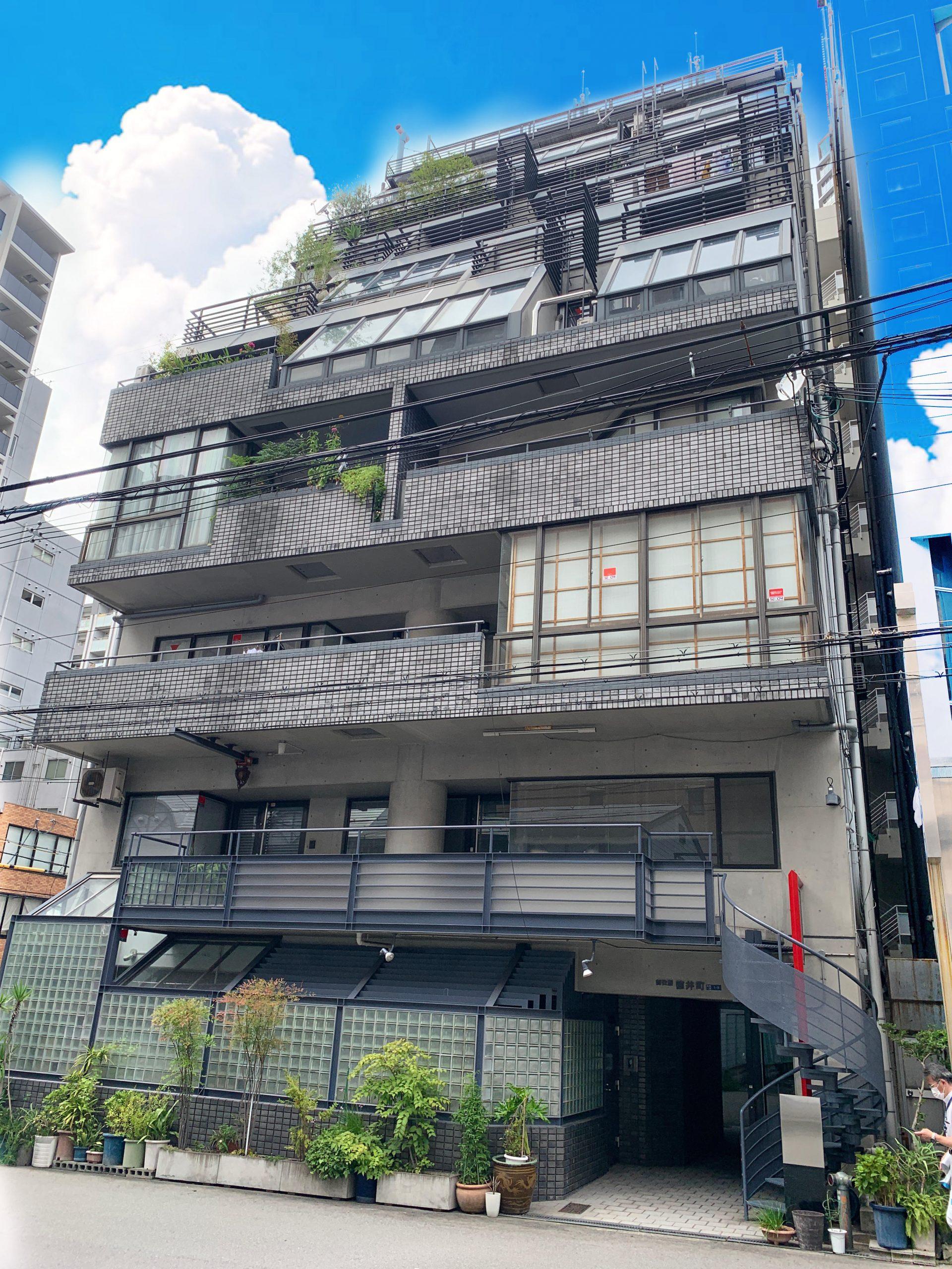 大阪市中央区徳井町の物件外観写真